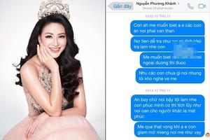 SỐC: Hoa hậu Trái đất Nguyễn Phương Khánh bị chính người 'nâng đỡ' tố mua giải, vô ơn