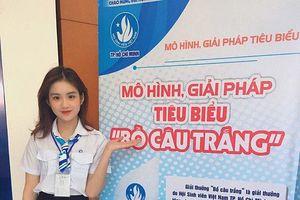 Bùi Minh Anh - Nữ sinh Duyên dáng Áo dài kiêm võ sĩ là Đại biểu sinh viên