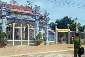 Xác trẻ sơ sinh còn dây rốn trước cổng chùa ở Đồng Nai