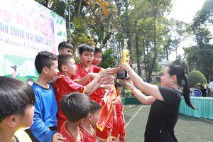 Nhà thiếu nhi Đồng Nai giành giải nhất Giải bóng đá U.10 các nhà thiếu nhi