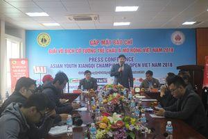 Đã có 98 kỳ thủ tham gia Giải vô địch cờ tướng trẻ châu Á mở rộng
