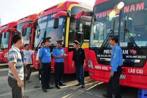 Lào Cai: Truy tận 'gốc', thu triệt để phù hiệu xe vi phạm