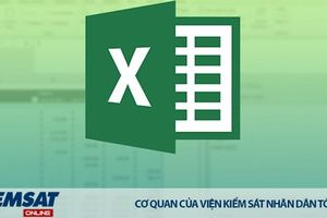 Lập sổ thụ lý theo dõi xử lý, quản lý đơn khiếu nại trên bảng Excel