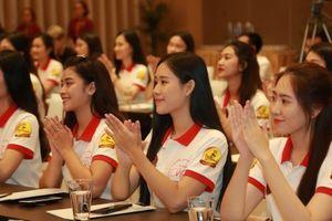 Họp báo Vòng chung kết 'Hoa khôi Sinh viên Việt Nam' 2018