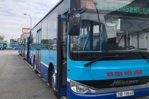 4 tuyến buýt của Hà Nội được thay xe mới hoàn toàn