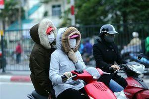 Không khí lạnh tăng cường, Bắc Bộ tiếp tục rét đậm, Hà Nội mưa lạnh
