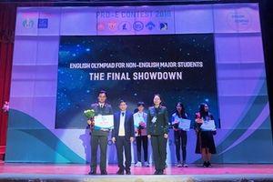 Học viện ANND giành giải Nhất 'Olympic tiếng Anh không chuyên toàn quốc 2018'
