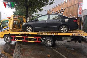 Giải cứu ô tô bị ngập nước, các hãng sửa xe ở Đà Nẵng quá tải