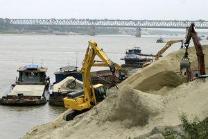 Siết chặt quản lý, khai thác cát, sỏi: Phân định rõ trách nhiệm