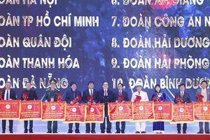 Bế mạc Đại hội Thể thao toàn quốc lần thứ VIII: Hà Nội xuất sắc nhất toàn đoàn
