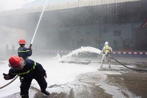Diễn tập phương án phòng cháy, chữa cháy và cứu nạn, cứu hộ tại quận Hà Đông