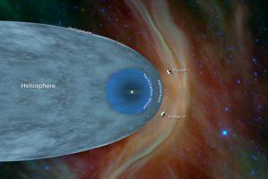 Tàu Voyager 2 rời Hệ mặt trời, đi vào cõi liên sao