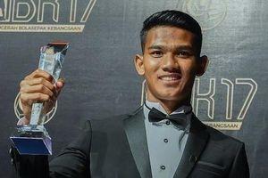Tiền đạo xuất sắc nhất 2017 của Malaysia: Cao 1,80 m, chưa có bạn gái