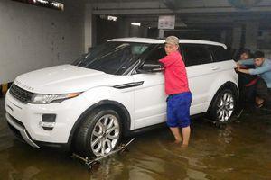 BMW, Range Rover được cứu khỏi hầm chung cư Hoàng Anh Gia Lai