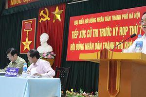 Lịch tiếp xúc cử tri sau kỳ họp thứ 7 HĐND TP Hà Nội khóa XV