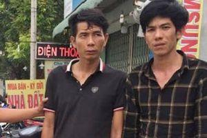 Cảnh sát tóm gọn hai tên trộm xe trên phố ở TPHCM