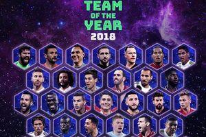 Real Madrid áp đảo trong danh sách đề cử đội hình năm của UEFA