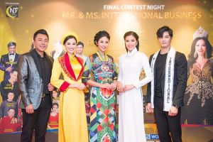Dàn sao tham gia đêm chung kết Hoa hậu và Nam vương Doanh nhân Quốc tế