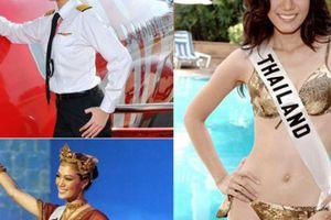 Gia thế nữ phi công đẹp nhất nhì Thái Lan từng lên ngôi hoa hậu