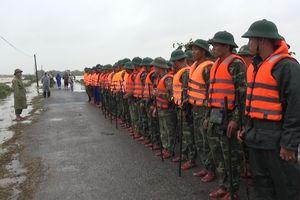 LLVT tỉnh Quảng trị giúp dân khắc phục hậu quả lũ lụt
