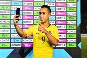 Tiền đạo Malaysia tuyên bố 'mạnh miệng' trước trận gặp đội tuyển Việt Nam
