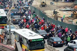 TP Hà Nội: Yêu cầu hạn chế 'lô cốt' phục vụ giao thông trong dịp Tết