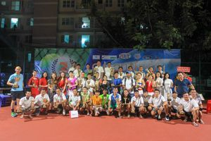 Kết thúc thành công giải quần vợt sinh nhật Cộng đồng tennis Việt Nam
