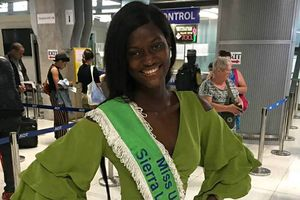 Tới trễ 2 tuần, Hoa hậu Sierra Leone bị loại khỏi 'Miss Universe 2018'