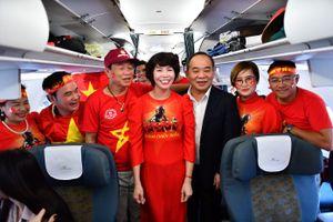 Thêm 6 chuyến bay đưa cổ động viên Việt Nam sang Malaysia