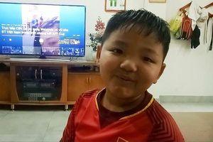 Con trai tiền đạo Anh Đức: Ba con sẽ ghi bàn, Việt Nam thắng Malaysia