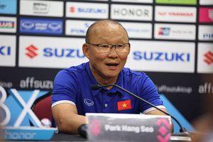 HLV Park Hang Seo thất vọng vì Việt Nam để Malaysia cầm hòa 2-2