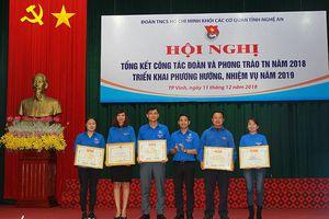 Khen thưởng 36 cá nhân, tập thể xuất sắc trong công tác đoàn