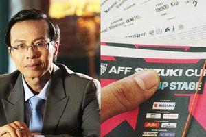 Cách bán vé xem trận chung kết Việt Nam – Malaysia của VFF mang tính 'chắp vá'