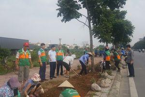 Quận Long Biên: Sạch đẹp hơn nhờ Câu lạc bộ 'Tình nguyện vì môi trường'