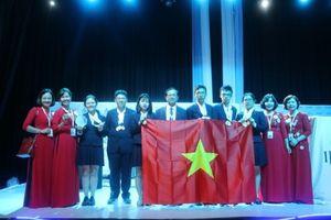 Cả 6 học sinh Việt Nam đều giành huy chương tại Kỳ thi Khoa học trẻ quốc tế IJSO 2018
