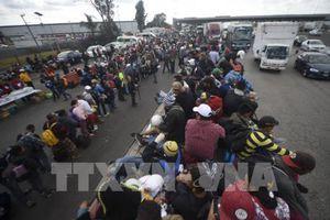 Người di cư Trung Mỹ được tạo điều kiện nhập cảnh hợp pháp vào Mexico