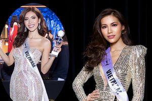 Tuyển tập những chiếc váy ánh kim tuyệt tác của Minh Tú tại Miss Supranational 2018