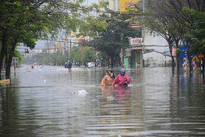 Trung Bộ mưa lớn, nguy cơ ngập úng cục bộ ở Quảng Nam, Quảng Ngãi