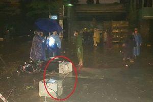Vụ 2 vợ chồng bị điện giật trong mưa lụt: Điện lực Đà Nẵng lên tiếng