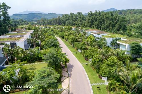 Flamingo thiết lập trạm quan trắc môi trường tại công trình 'xanh nhất hành tinh'