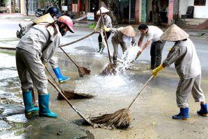 Đảm bảo nguồn nước sạch, vệ sinh môi trường sau mưa lũ