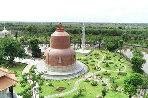 Check-in ngàn ảnh đẹp ở thiền viện Trúc Lâm 'phiên bản Ấn' ngay gần Trà Vinh
