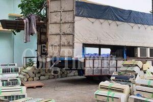 Quảng Bình: Thu giữ lô hàng điện lạnh không giấy tờ trị giá gần nửa tỷ đồng
