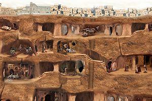 Khám phá thành phố dưới lòng đất cao 18 tầng ở Thổ Nhĩ Kỳ