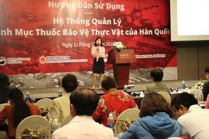 Hạn chế rủi ro khi xuất khẩu nông sản Việt sang Hàn Quốc