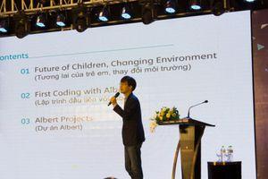 Trẻ dễ dàng tư duy lập trình với bộ học liệu cơ bản