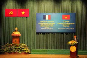 Lễ kỷ niệm 45 năm thiết lập quan hệ ngoại giao Việt Nam – Pháp