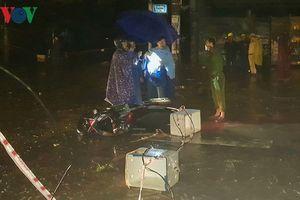 Đà Nẵng: Bị giật điện, 2 người thương vong