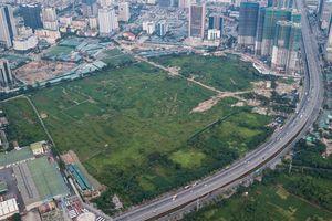 Clip: Toàn cảnh dự án công viên gần 1.000 tỷ đồng có nhà hát hiện đại nhất Hà Nội nhìn từ flycam