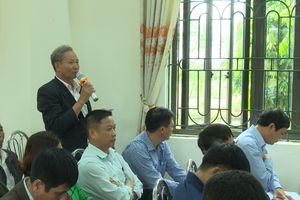 Lịch tiếp xúc cử tri của đại biểu HĐND TP Hà Nội